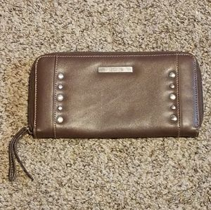 Brown Clutch Purse